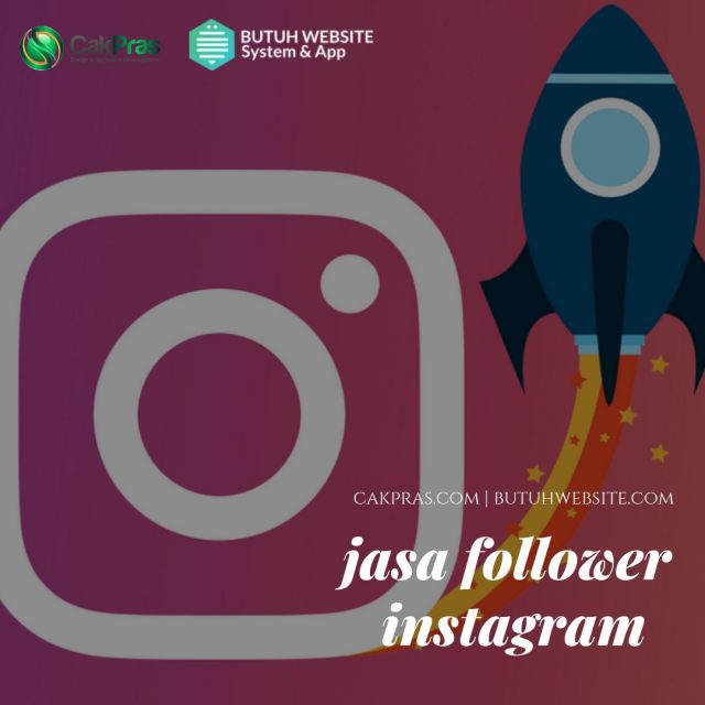 jasa follower instagram aman terpercaya