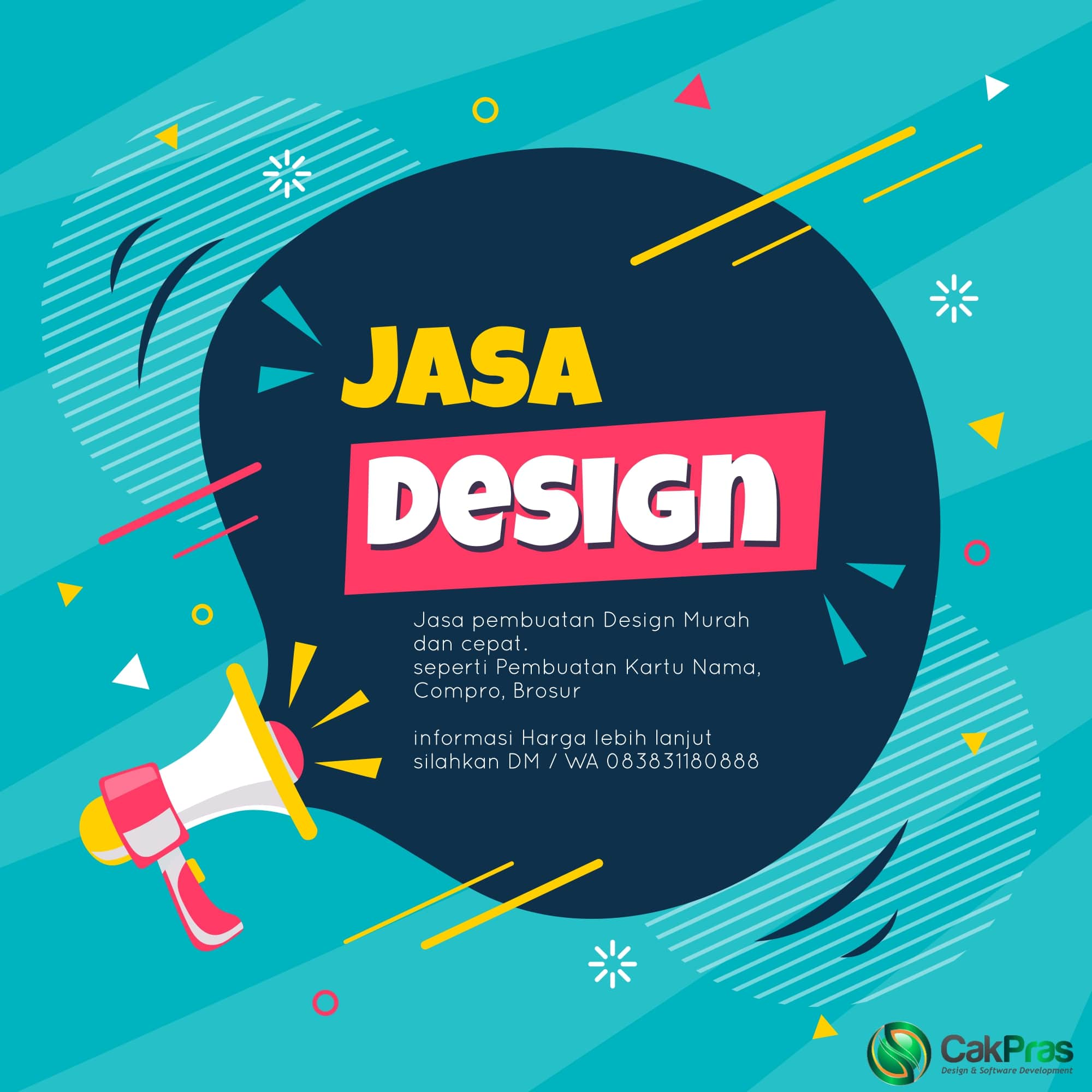Jasa Design Murah Surabaya - CakPras Digital Marketing - Jasa